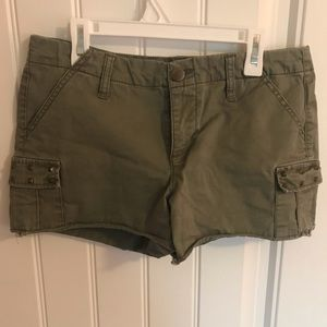 Forever21 army green shorts